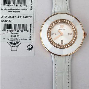 Swarovski Octea Dressy Ladies watch white $399